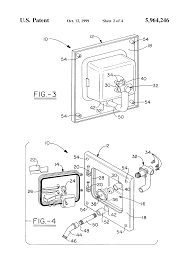 patent us5964246 outdoor and cold water faucet assembly