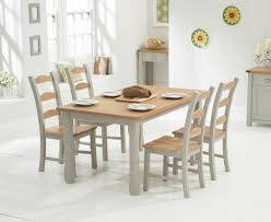 Grey And Oak Furniture Painted Dining Sets Oak And Grey The Great Furniture Trading
