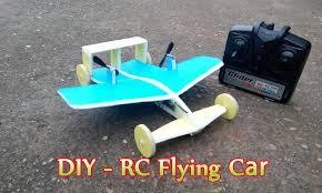 how to make a rc flying car mini youtube