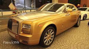 rolls royce gold interior 2014 golden rolls royce phantom coupe series ii youtube