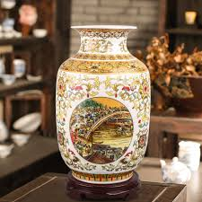 china home decor online shop chinese style classical porcelain table flower vase