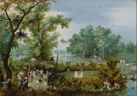 file adriaen de venne a merry company in an arbor