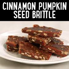 Toasting Pumpkin Seeds Cinnamon Sugar by Cinnamon Pumpkin Seed Brittle Recipe Myrecipes