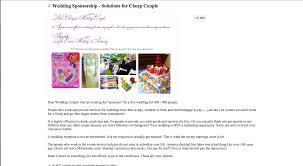 How To Post A Resume On Craigslist Couple Turns To Craigslist To Find U0027sponsors U0027 For Wedding Slr Lounge
