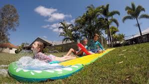 Backyard Slip N Slide 8 Fun Summer Backyard Family Activities Paging Fun Mums