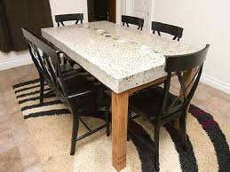 Solid Top Dining Table by Dining Room Tables With Granite Tops Granite Top Dining Room