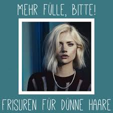 Frisuren D Ne Schulterlange Haare by 10 Dinge Die Nur Frauen Mit Dünnen Haaren Kennen