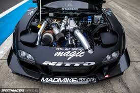 rob dahm rx7 that is a gorgeous engine bay