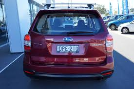 subaru purple 2014 subaru forester 2 5i my14 red metallic for sale in port