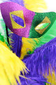 party ideas by mardi gras outlet diy mardi gras feather tree