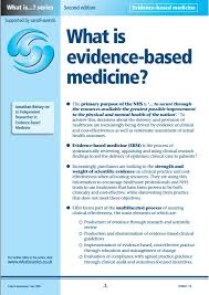 overview evidence based medicine research guides at