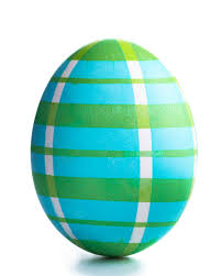 masking easter egg dyeing ideas lace plaid and stripes martha