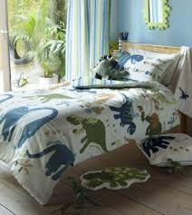 dino dinosaur kids single duvet cover bedding set lansfield