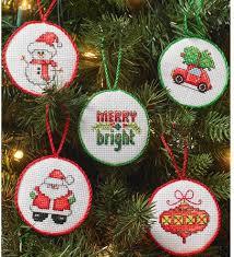 bucilla minis ornaments cross stitch kit