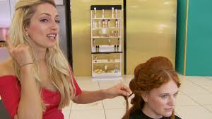 greek goddess hairstyle hair series 2 episode 3 bbc two youtube