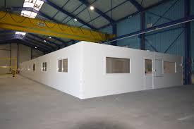 bureau belgique sambreville belgique bureau d atelier en kit de 310m2 stm