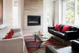 Travertine Fireplace Tile by Modern Fireplace Tile Ideas