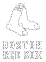 red sox coloring pages for your home cool coloring pages and