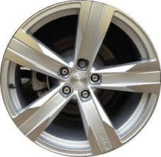 stock camaro rims aly5532 chevrolet camaro wheel silver polished 9599037