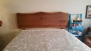 Live Edge Headboard by Wegner Custom Furniture Custom Wood Furniture Conifer Colorado