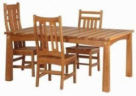 Light Oak Dining Room Chairs Mission Oak Dining Room Chair Foter