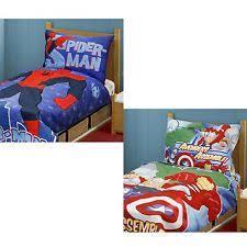 Toddler Superhero Bedroom Superhero Bedding Ebay