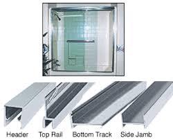 Shower Door Jamb S386060ba Crl Brite Anodized Frameless Mk Series