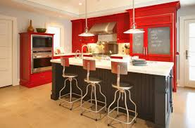 Red Kitchen Cabinets Red Kitchen Cabinets