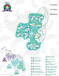 Map Of Kissimmee Florida by Disney U0027s All Star Movies Resort Map Wdwinfo Com