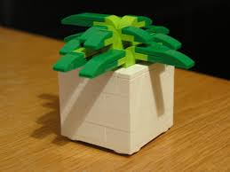 lego ideas desktop cactus planters