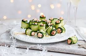 cucumber canapes canapés canapés ideas tesco food
