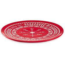 serving plate live merry snowflake serving platter kitchen accessories hallmark