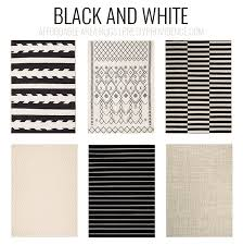 Black White Striped Rug Rug Black And White Striped Rug 8 10 Wuqiang Co