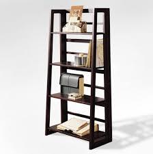 Iron Folding Bookcase Amazon Com Dolce 4 Shelf Folding Bookcase Dark Walnut Home