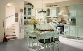 Retro Kitchen Design Kitchen Decorations Retro Style Kitchen Design With Corner Green