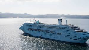moreton bay welcomes again jewel first cruise ship redland
