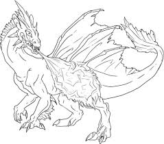 dragon coloring sheets awesome coloring le 5252 unknown