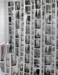 vinyl new york shower curtain house bathroom pinterest