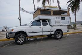 toyota tundra motorhome sold toyota tundra plus pop up camper for sale argentina