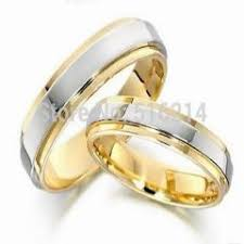 korean wedding rings usa uk canada russia brazil 6mm 18k gold steps silver top legend
