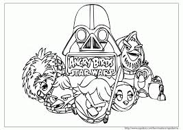 100 ideas angry birds star wars coloring pages darth vader