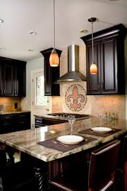 kitchen design backsplash fleur de lis kitchen decor under wooden