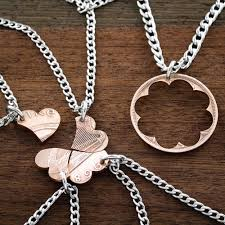 heart puzzle necklace images 5 best friends necklaces bff gifts heart puzzle copper irish jpg