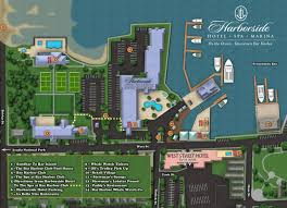 National Harbor Map The Harborside Hotel Bar Harbor Hotels Official Site