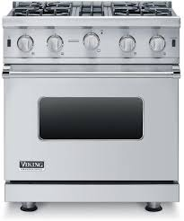 viking vgic53014bss 30 inch 5 series gas freestanding range with