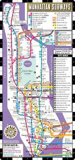map of ny subway streetwise manhattan subway map laminated subway map of new