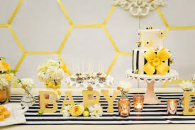 yellow baby shower ideas bright yellow baby shower inspiration luxe linen