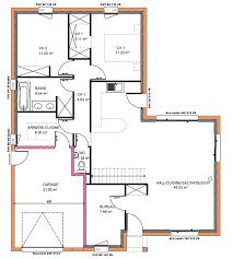 plan de maison plain pied 2 chambres plan de maison 2 chambres free plan habill etage maison maison