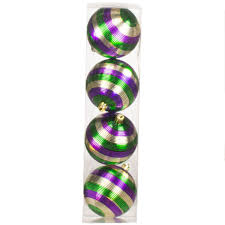 mardi gras ornaments 3 25 striped mardi gras ornaments 4 30 171