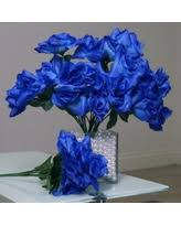 wedding flowers royal blue deals for royal blue silk flowers